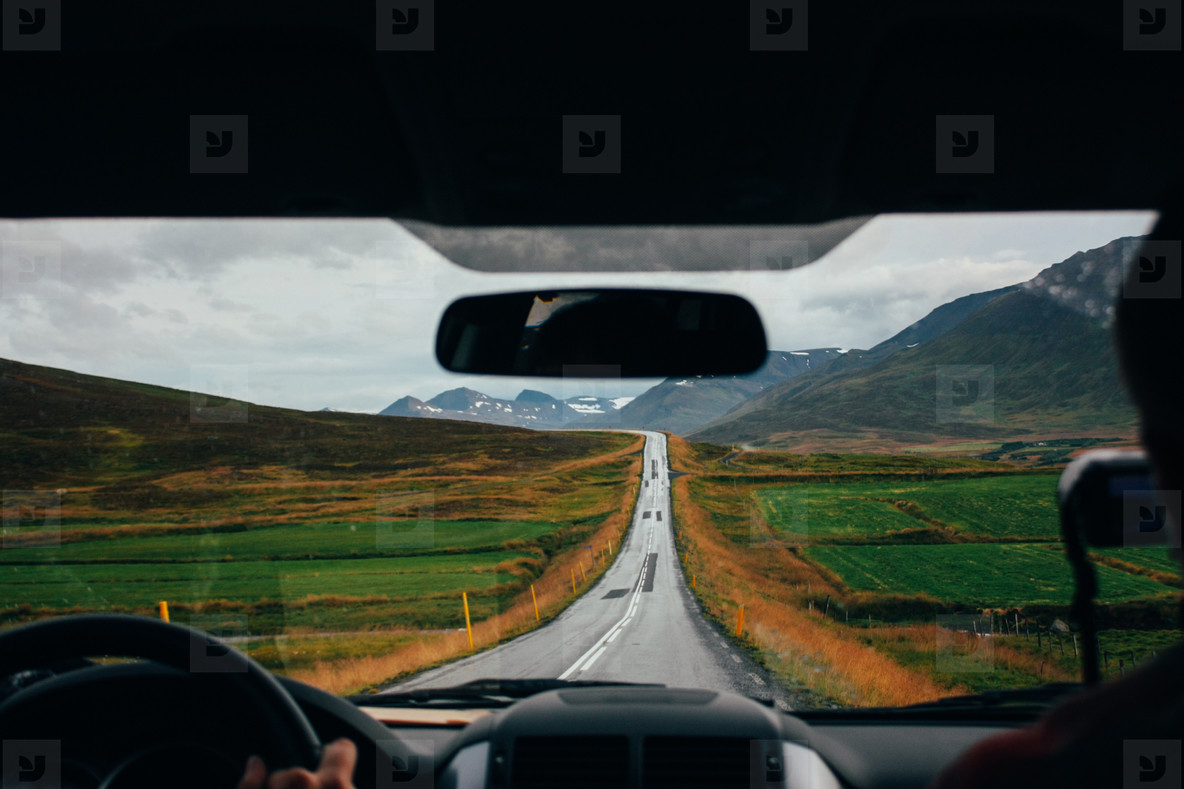 Road trip in Iceland  landscape