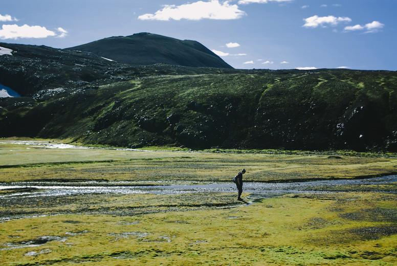 Hiking in Landmannalaugar