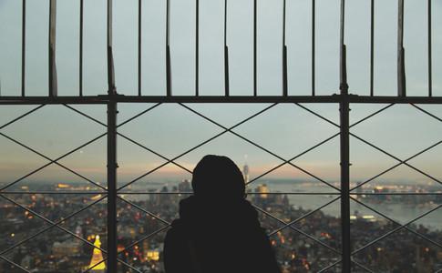 Overlooking Manhattan