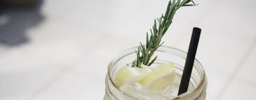 Lemon ice soda