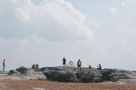 Mahk Dook cliff