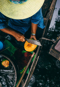 Thai Coconut Vendor
