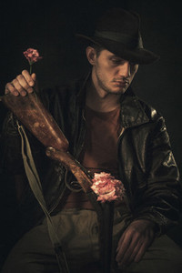 Flowers in His Rifle 03