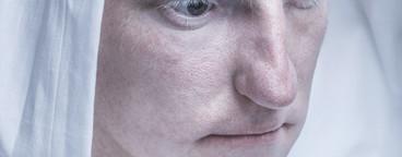 Futuristic Albino Man  05
