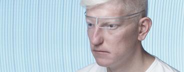 Futuristic Albino Man  10