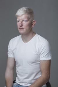 Futuristic Albino Man  11