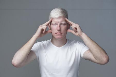 Futuristic Albino Man  12