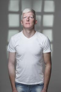 Futuristic Albino Man 13