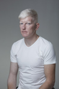 Futuristic Albino Man  16