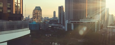Morning Bangkok City