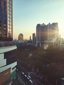 Morning Bangkok City