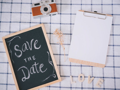 Save the date with clipboard