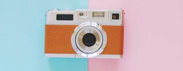 Vintage camera style
