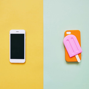 Popsicle case for smartphone