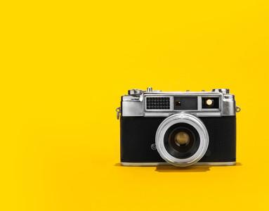 Retro analog film camera
