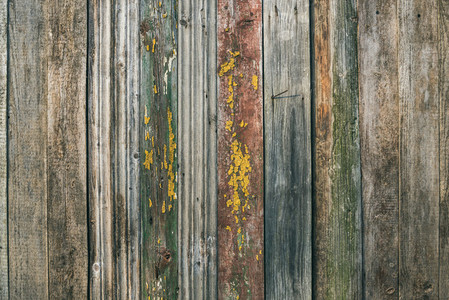 Painted old rustic pine wood board texture  background