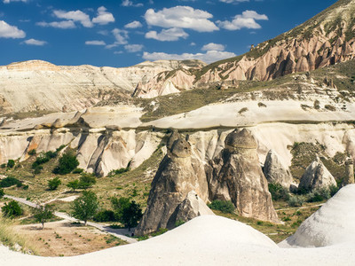 A valley in Cappadocia  Cental Turkey