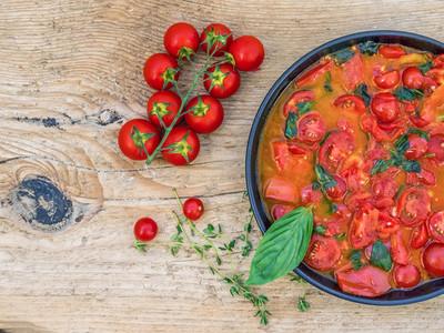 Tomato souce for pasta