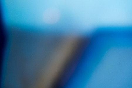 Motion movement in blue texture