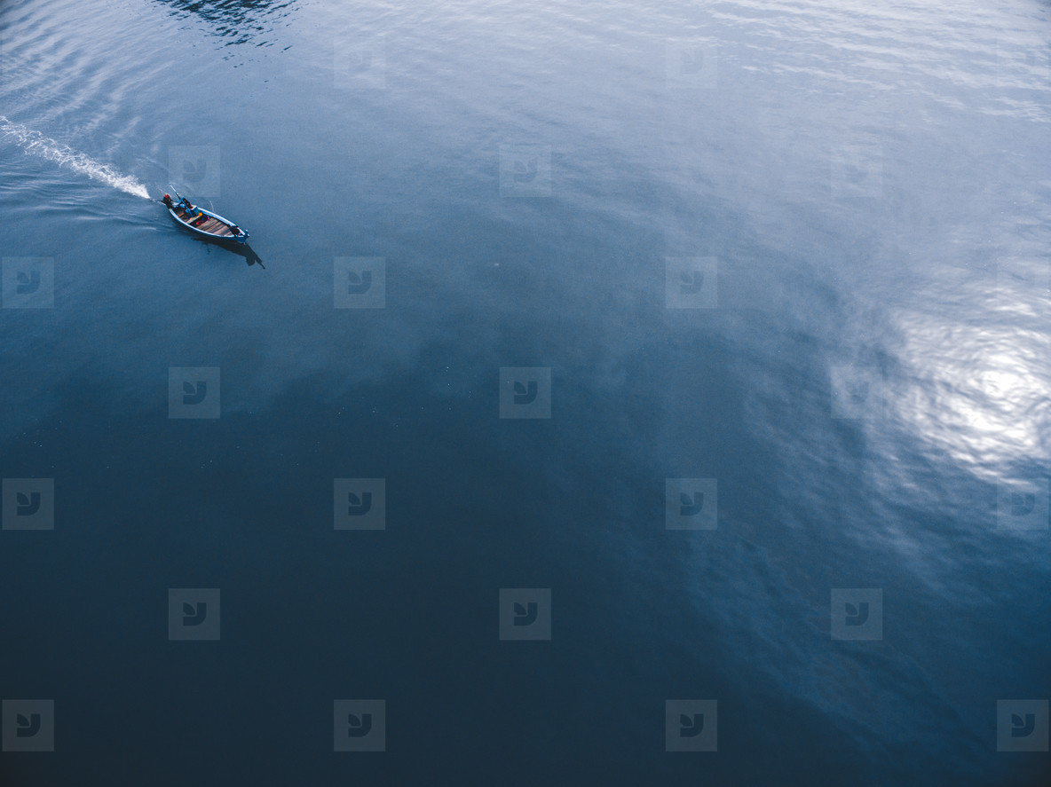 Fishing Boat on the Move