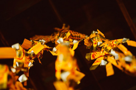 Abstract Yellow Lanterns