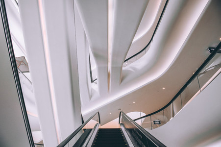 Escalator  Central Embassy