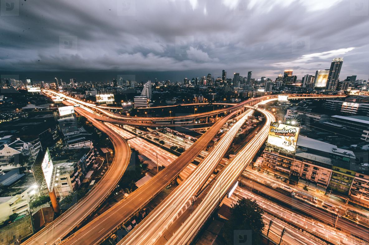 Elevated highway  Bangkok