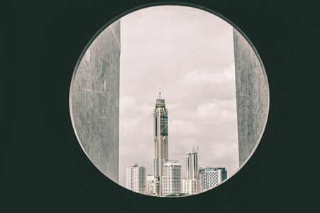 Building of City in a circle