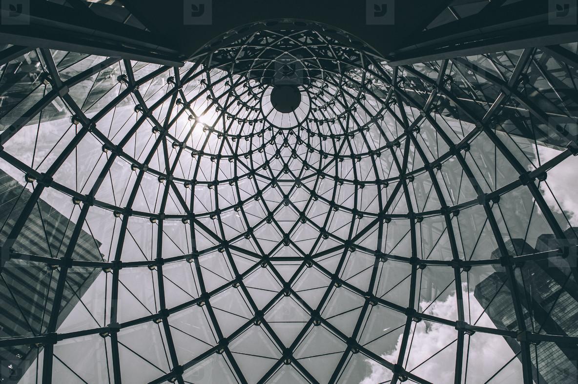 Glass cone