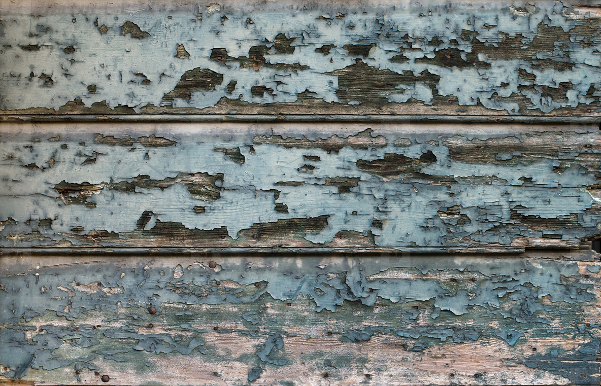 Old painted cracked blue wooden texture  Vintage rustic style  Natural surface  background and wallpaper