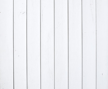 White painted wooden texture or background