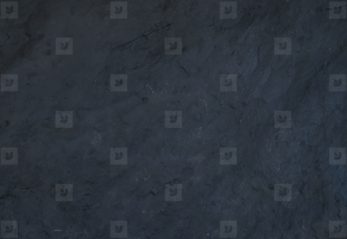 Black natural slate stone texture and background