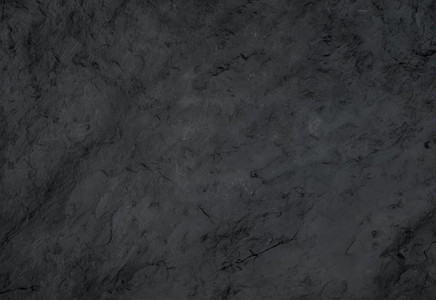 Black natural slate stone texture or background