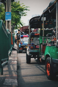 Tuk Tuk Taxi Bangkok