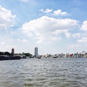 Scenic view of Chao Praya River