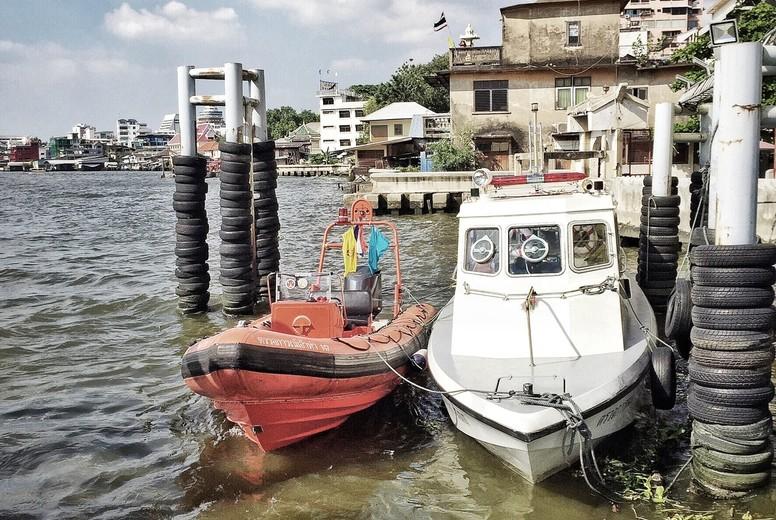Scenic view of Chao Praya River