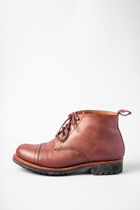 mens brown leather boot