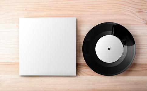 Blank vinyl cover