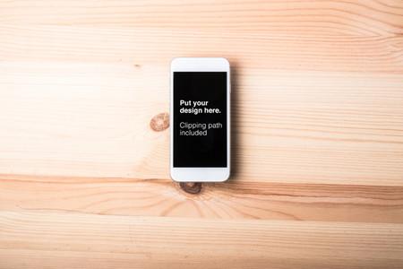 Blank smart phone