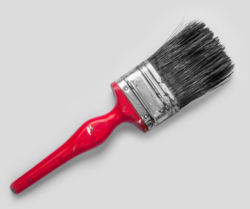 Old paint brush