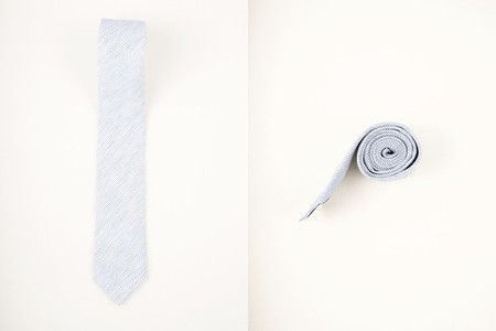 Mens striped neck tie