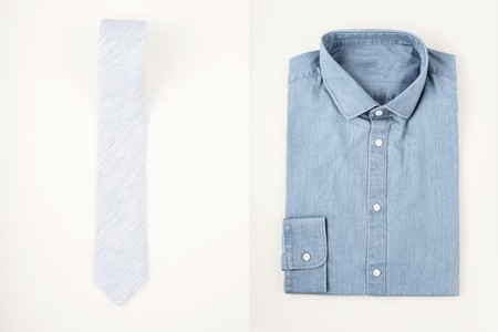 Mens fashion set   shirt and tie