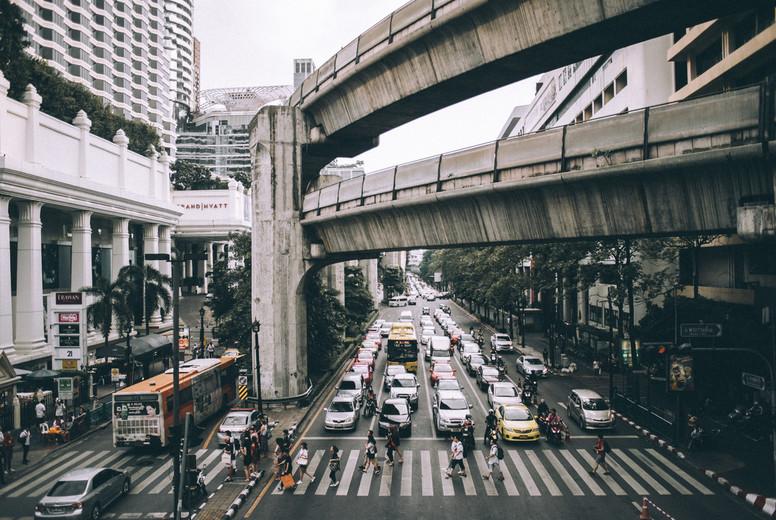 Bangkok street  Thailand
