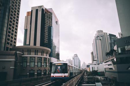 Cityscape of Bangkok  Thailand