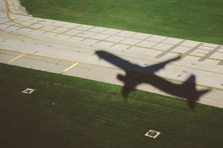 Airplane Takeoff Shadow