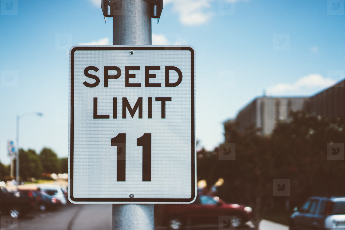 Speed Limit 11mph