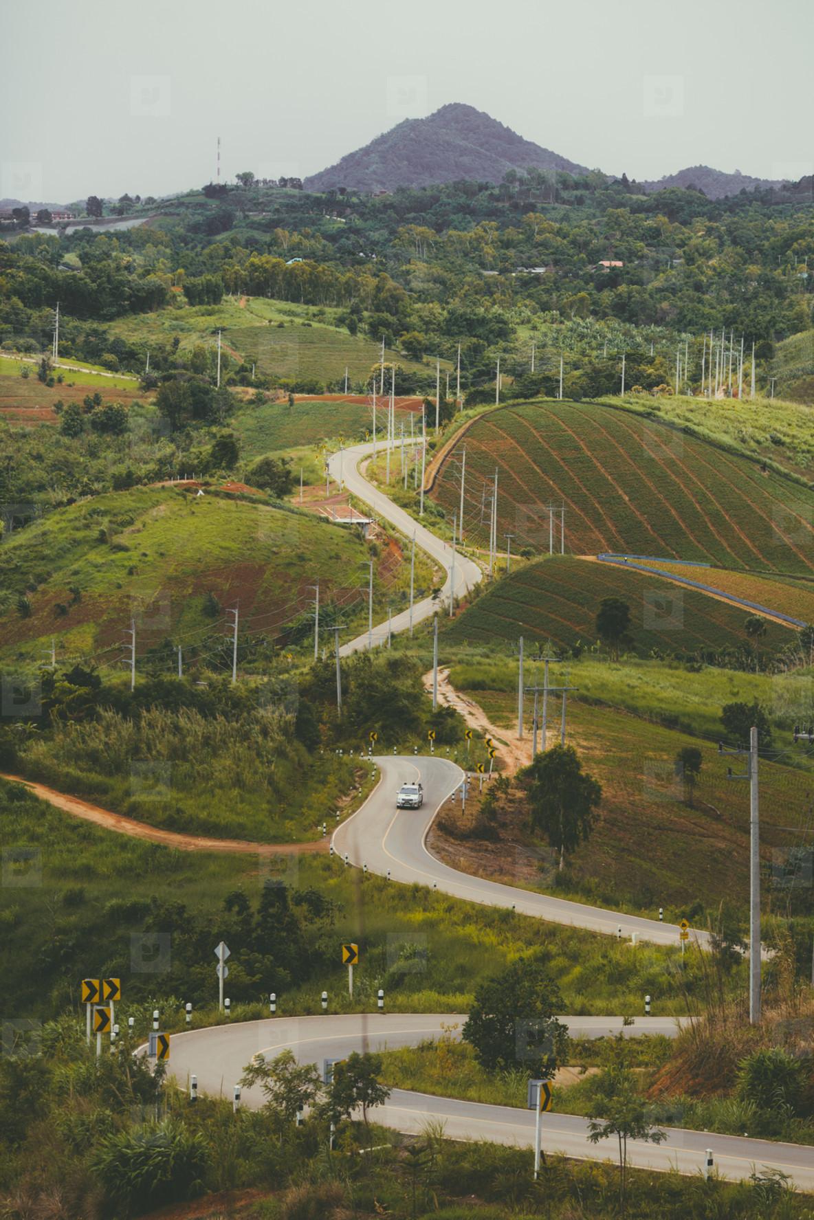 Mountain road