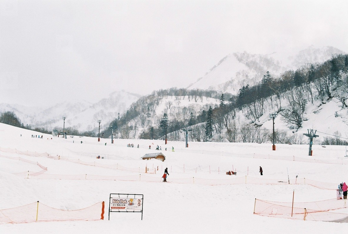 Ski Resort  Hokkaido  01