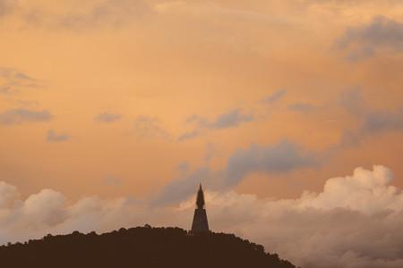 View of Pagoda on mountain 02