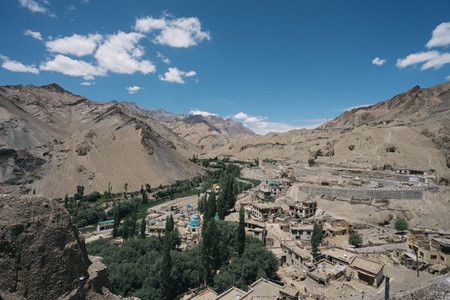 Mountain view  Ladakh  India 01